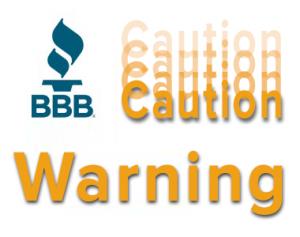 BBB Complaints RMR