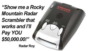 Rocky Mountain Radar reward